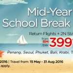 Air Asia Go: Return Flights + 2N Stay + Tax from only RM399!