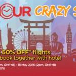 Air Asia: 50% Discount for Flights to Taiwan, Hong Kong, Japan, Korea, Australia, Thailand and more!