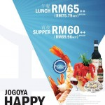 JOGOYA Friday Promotion: Enjoy Buffet from only RM60!