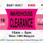 KIKO, Trudy & Teddy Warehouse Clearance Sale: Price from only RM5