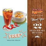Kenny Rogers Roasters FREE Drink and Soup Giveaway