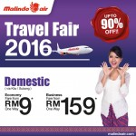 Malindo Air Discount up to 90%: Fly from only RM9!