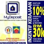 MyDeposit , Bantuan RM 30,000 atau 10% bagi memiliki rumah