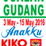 Anakku Kiko Warehouse Clearance Sale: Price from only RM1!