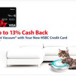 HSBC Credit Card Promo: FREE I-Rova K6 Robot Vacuum Cleaner Giveaway
