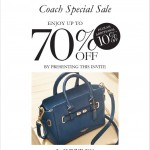 COACH Special Sale: Enjoy Discount up to 70%!