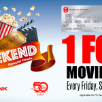 GSC Promo: Movie Ticket Buy 1 FREE 1 Promotion