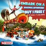 Sunway Lagoon Special Buy 1 Free 1 Seasonal Online Promo