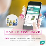 Watsons Health Pack worth RM50 Giveaway