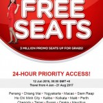 Air Asia FREE Seats Promotion 2017
