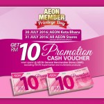 AEON Member Day FREE Cash Voucher Giveaway
