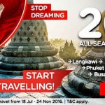Air Asia ALL Seats, ALL Flights at 20% Discount