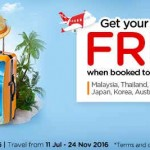 AirAsiaGo FREE Flights Promotion