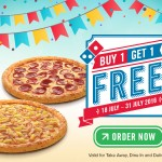 Domino's Buy 1 FREE 1 Promo Code
