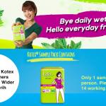 KOTEX Fresh Liners Longer and Wider Daun Sirih Giveaway