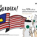 Starbucks Merchandise at 10% Discount