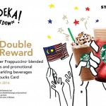 Starbucks Double Rewards Promotion
