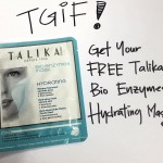 Talika Bio Enzymes Hydrating Mask Giveaway
