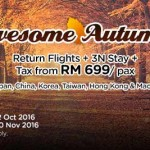 AirAsiaGo: Return Flights + 3N Stay + Tax from only RM699