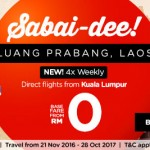 Air Asia FREE Seats to Laos Promotion!