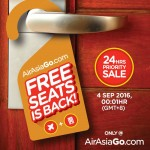 Air Aisa Go FREE Seats Promotion 2017