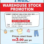 Pureen Warehouse Stock Clearance Sale: Price from only RM3