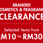 Branded Cosmetics and Fragrance Clearance Sale