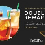 Starbucks Double Reward Promotion