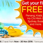 AirAsiaGo FREE Seats Promotion