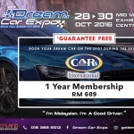 FREE 1 Year Cars International Membership worth RM 689
