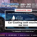 FREE ULGO Car Coating Cash Voucher worth RM 1,500 Giveaway