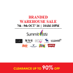 ZARA, Levi's, MNG, Bershka Branded Warehouse Sale: Enjoy Discount up to 90%!