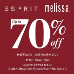 Esprit Melissa Warehouse Clearance