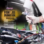 G Garage Paint Job Promotion