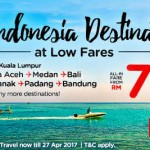 AirAsia Indonesia Promotion: Fly from only RM75