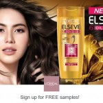 L'Oreal ELSEVE Hair Care FREE Sample Giveaway
