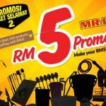 MR D.I.Y. RM5 Promotion!