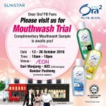 Ora2 Mouthwash Sample Giveaway