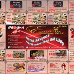 Shogun Saisaki Exclusive Coupons Promotion