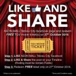 TGV FREE Movie Ticket Giveaway!