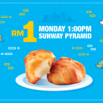 Taste Better's Fluffy One-Bite Puffs for only RM1 Promotion