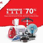 Tefal Warehouse Sale: Enjoy Discount up to 70%