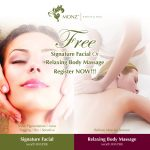 FREE MONZ Treatment Service (Signature Facial OR Relaxing Body Massage) worth up to RM398 Giveaway