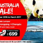 Air Asia: Fly to China, Australia from only RM189!