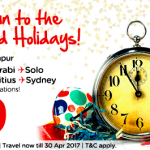 Air Asia: Fly to Kota Bahru, Krabi, Solo, Kolkata, Mauritius, Sydney from only RM29