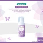 BETADINE Daily Feminine Wash Foam Giveaway