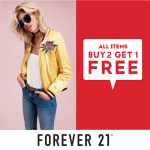 FOREVER 21 Buy 2 FREE 1 Promotion