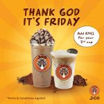 J.CO Donuts & Coffee Beverage at only RM1 Promotion