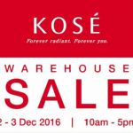KOSE Warehouse Sale: Discount up to 70%