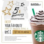 Starbucks Grande Size Handcrafted Beverage for only RM11 Promotion